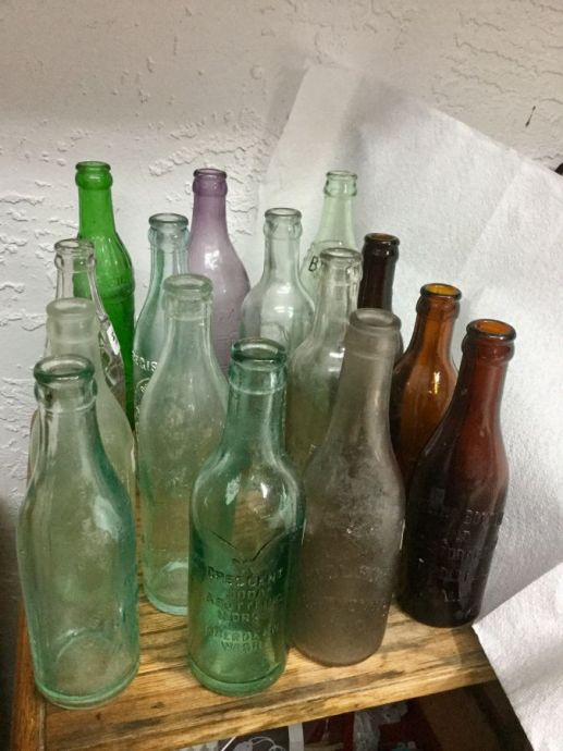 Antique Soda Bottles